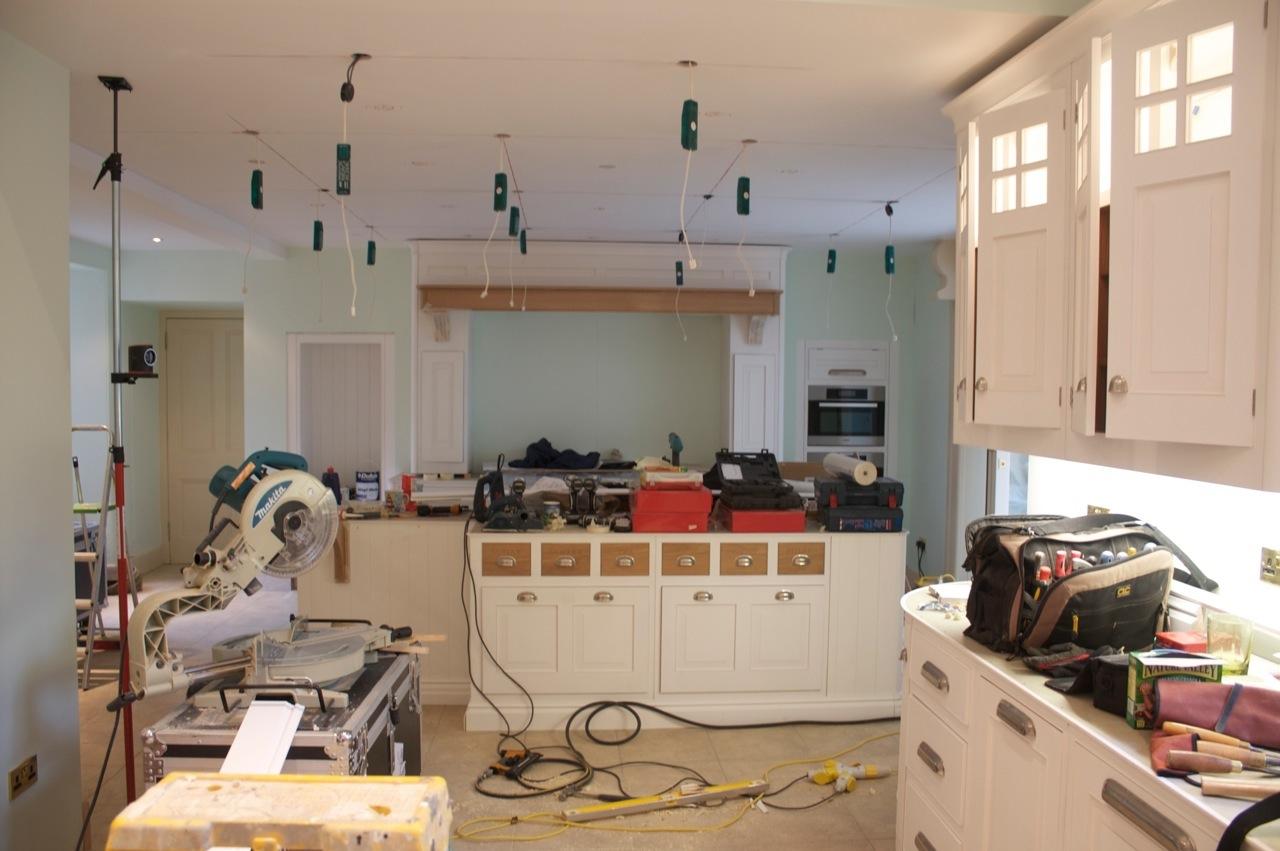 Hand Painted Kitchen Scotland Kevin Mapstone - Kitchen design scotland
