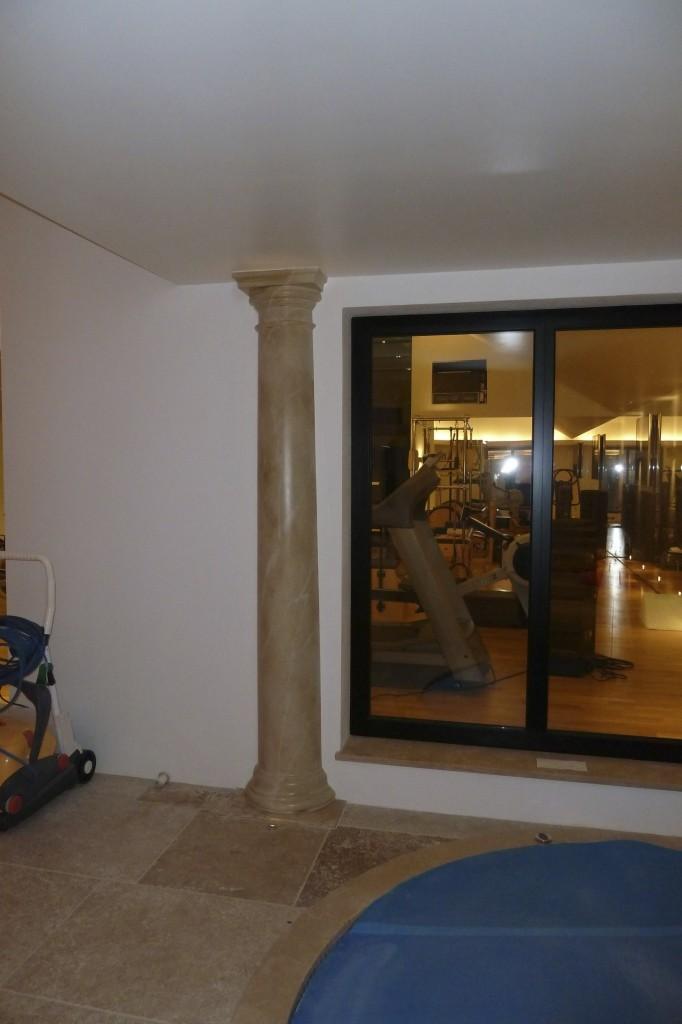 Marbling columns Berkshire