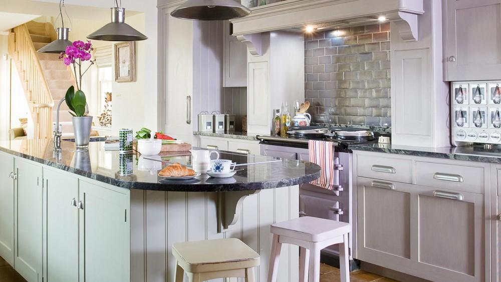 Hand Painted Kitchen Dornoch Scotland