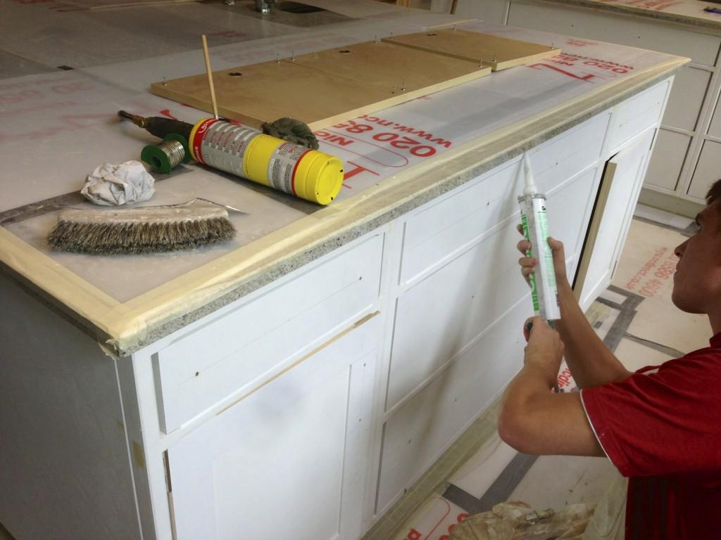 Hand painted kitchen SW London | kitchen painters London