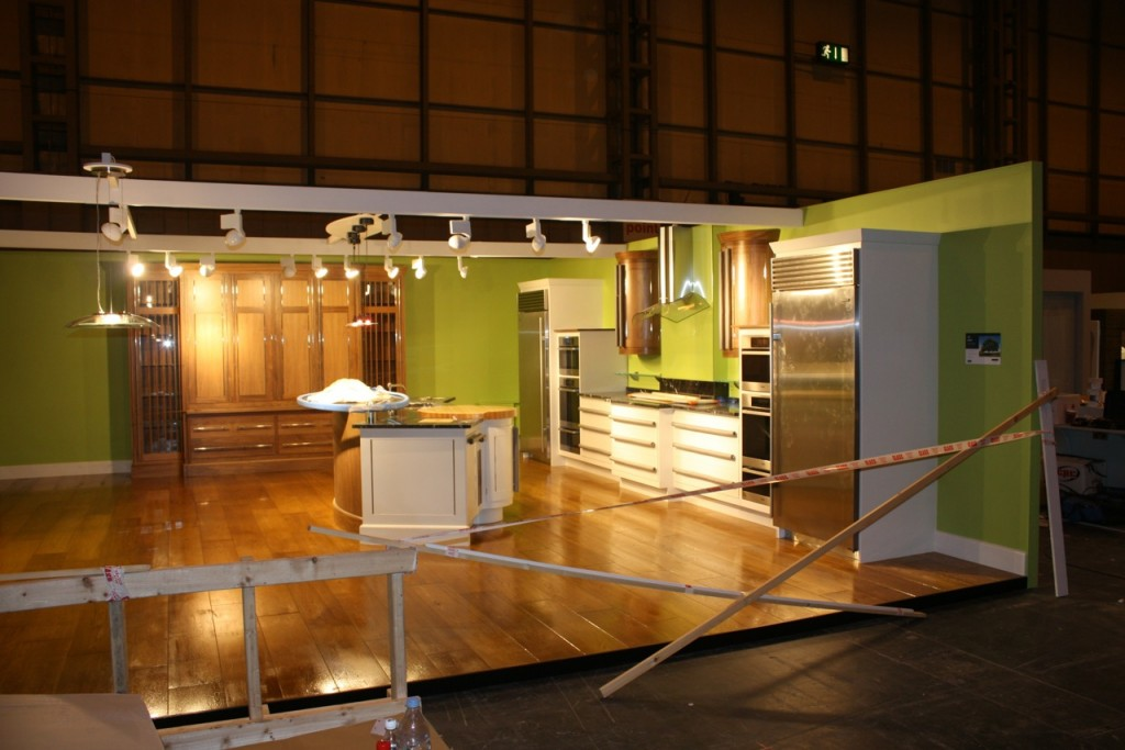 Hand Painted Kitchens at The Grand Design Show | kevinmapstone.com