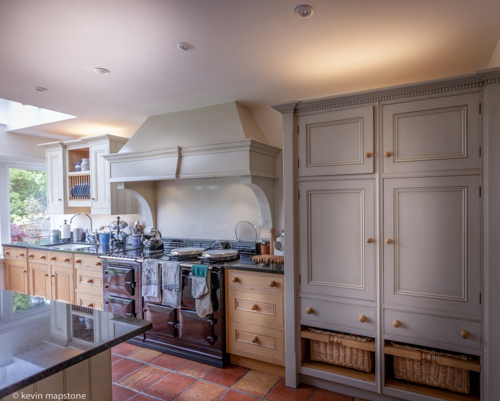 Hand Painted Kitchen Cabinets Gerrards Cross Buckinghamshire