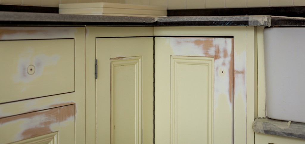 Hand painted kitchen Berkshire Windsor