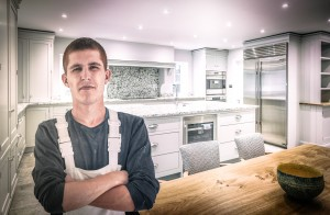 An apprenticeship in hand painted kitchens