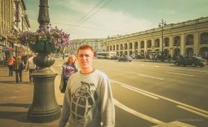 sightseeing in St Petersburg, Russia