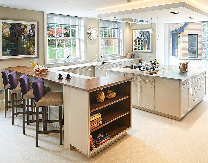 Hand painted kitchen London