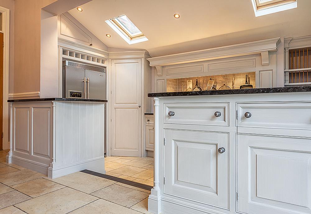 hand painted kitchen Berkshire