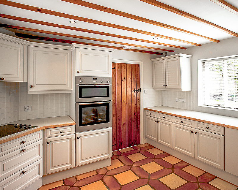 Hand painted kitchen Wiltshire