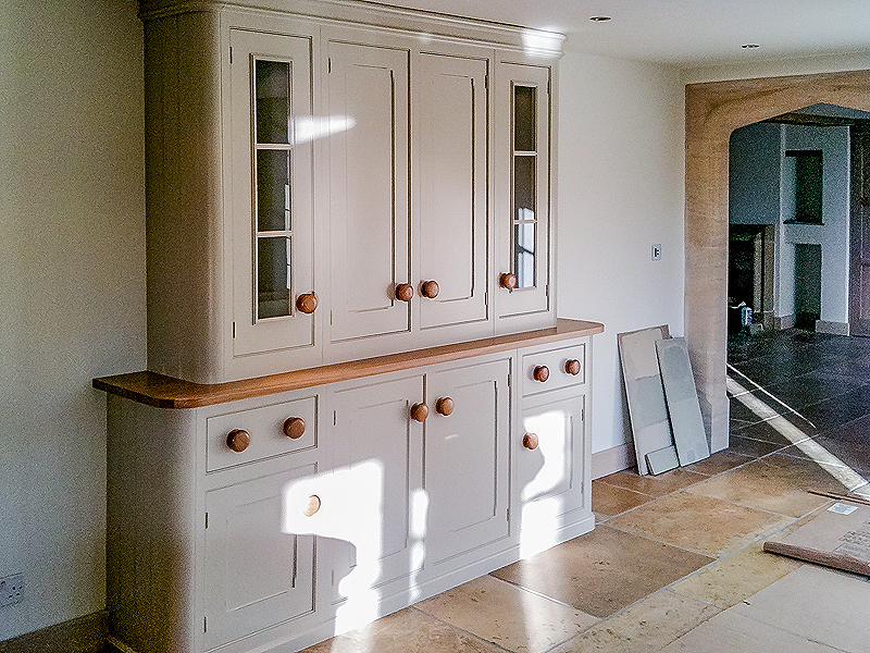 Hand painted kitchen Cotswolds