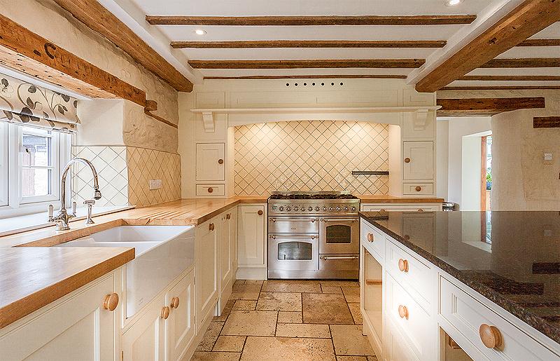 Hand painted kitchen Wiltshire