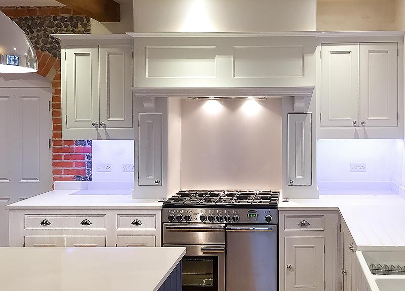 Hand painted kitchen Surrey