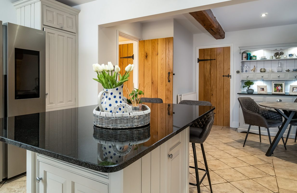 Wooden Kitchen Painted Northamptonshire
