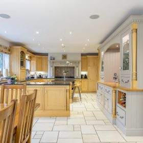 Wooden Kitchen Painted London